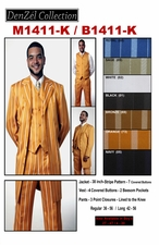 Men's and Boys Designer Suit On Sale (M1411-K / B1411-K)