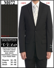 Men's Designer Business Suit (M072)