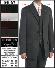 Men's Designer Business Suit, Men's Special Occassion Suit (M067)