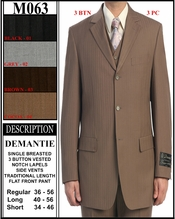 Men's Designer Fashion Suit (M063)
