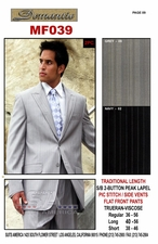 Men's Designer Fashion Suit (MF039)