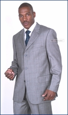 Men's Designer Italian Business, Career, Formal Baroni Suit On Sale