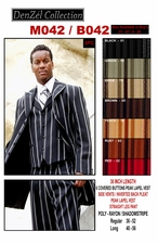 Men's Designer Striped Suit (M042 / B042)
