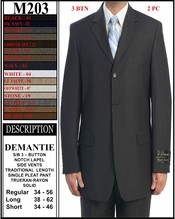 Men's Designer Suit (M203)