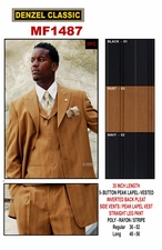 Men's Designer Suit, Men's Special Occassion Suit.(MF1487)