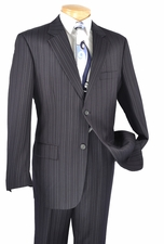 Men's Executive Multi Stripe Pattern Suit (S1213)