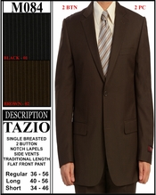 Men's Fashion 2 Button Suit (M084)