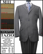 Men's Single Breasted Suit (M111)