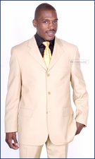 Men's Stylish Beige Baroni Italian Suit