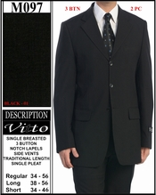Men's Top Notch Church Suit On Sale (M097)