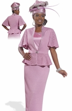 Mother of the Bride in Pink by Donna Vinci Knits 2990