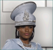 Mother of The Groom Special Occasion Designer Sky Hat H1425