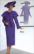 Mother Of The Groom Special Occasion Holiday Suit by Donna Vinci 11263