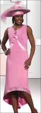 Top Quality Sunday Womens Dress in Pink from Lisa Rene 3226