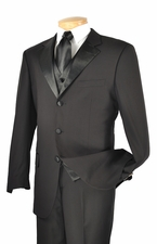 New 3 Piece Notched Lapel  Tuxedo (S1251)