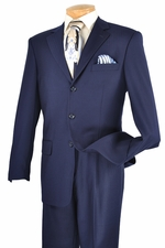 New Mens Business Tone on Tone Stripe Suit (S1233)