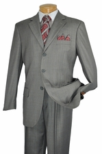 New Mens Wool Feel Poly Rayon Suit (S1234)