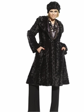 One Of A Kind DONNA by Donna Vinci  Fur Coat & Hat 14147