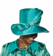 Simply Lovely Womes Church Hat by Donna Vinci H2163