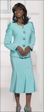 Special Occasion Elegant Mother of The Bride Mint Suit by Donna Vinci 11172