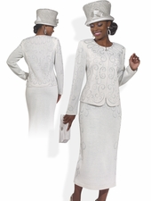 Women's Special Occasion Stop and Stare Suit by Donna Vinci 2988