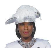 Special Occasion Womens Church Hat by Donna Vinci H2155