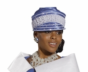 Stepping into Style Ladies Church Hat by Donna Vinci H1473