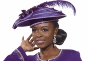 Stop the Show Womens Church Hat by Donna Vinci H2173