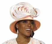 Sundays Best Classy Womens Church Hat by Donna Vinci  H2151