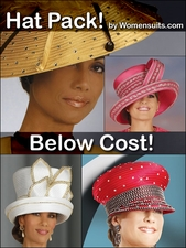 Women's 5 Different Style Hat Pack at BELOW WHOLESALE (an $800 Value)