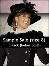 Women's Sample 5 Pack Size 8 BELOW WHOLESALE COST( a $1749 value)