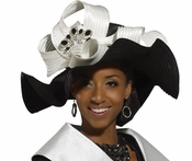 Womens Unique Stylish Church Hat by Donna Vinci H1489