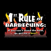 1st Rule of Barbecuing Apron