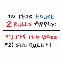 2 Rules Apply Apron