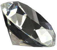 5 Inch Diamond Shaped Paperweight