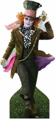 Alice in Wonderland Mad Hatter Johnny Depp Cardboard Cutout Life Size Standup
