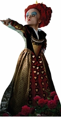 Alice in Wonderland Red Queen Helena Bonham Carter Cardboard Cutout Life Size Standup