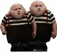Alice in Wonderland Tweedledum and Tweedledee Matt Lucas Cardboard Cutout Life Size Standup