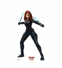 Black Widow � Captain America Civil War Cardboard Cutout Life Size Standup