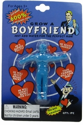 Boyfriend Grow Toy (2 Pack) - Expands 600% - Blue & Red