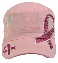 Breast Cancer Awareness - Hope Pink Hat