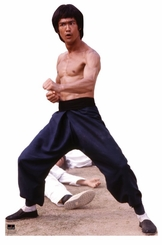 Bruce Lee - Fight Stance Cardboard Cutout Life Size Standup