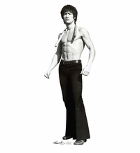 Bruce Lee Game Cardboard Cutout Life Size Size Standup