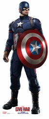 Captain America � Civil War Cardboard Cutout Life Size Standup