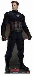 Captain America No Mask � Captain America Civil War Cardboard Cutout Life Size Standup