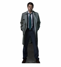 Castiel from Supernatural Cardboard Cutout Life Size Standtup