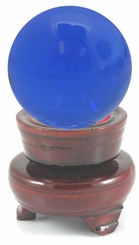 """Crystal Ball Shaped Paperweight, 3.15"""" Wide (80mm)"""