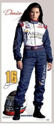 Danica Patrick Argent Mortgage NASCAR Cardboard Cutout Life Size Standup