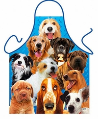 Dogs Funny Aprons