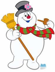 Frosty The Snowman Cardboard Cutout Life Size Standup